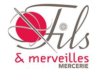 Logo du magasin fils et merveilles - mercerie à Antony