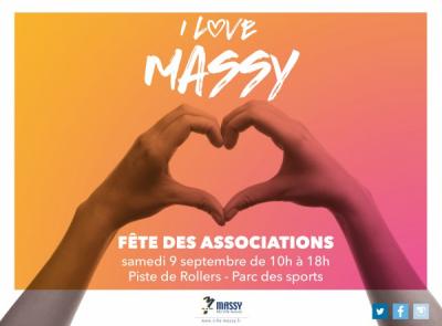 Affiche du forum des associations de Massy du 9 septembre 2017