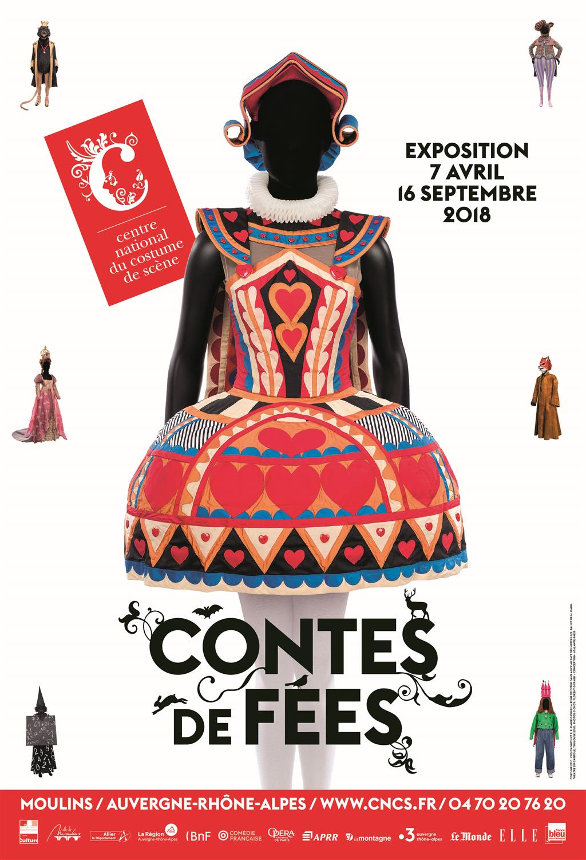 Affiche exposition Contes de Fées à Moulins