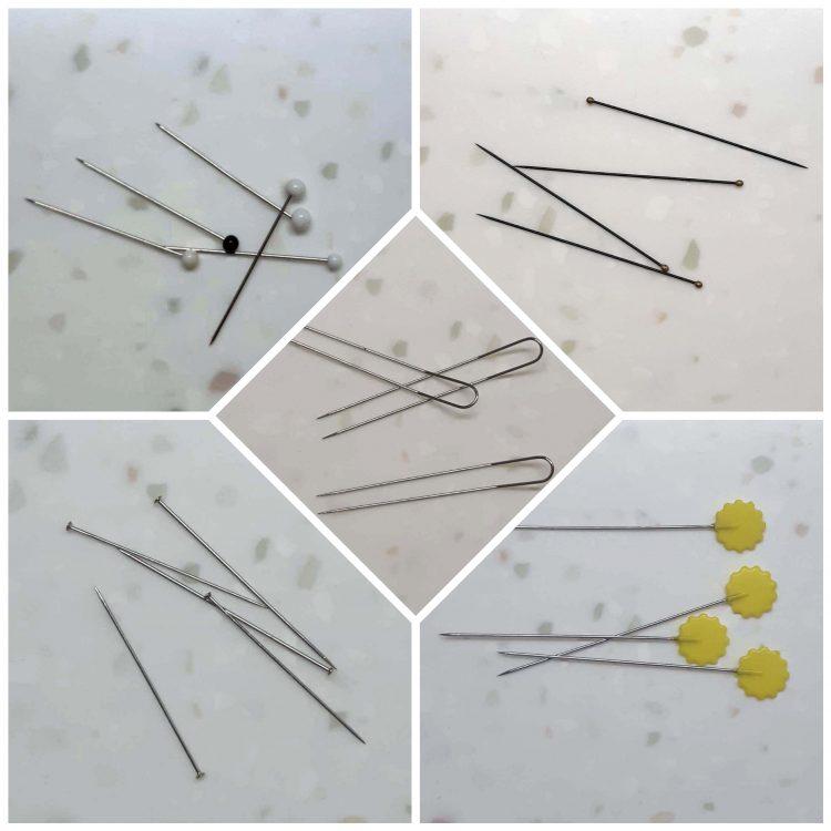 5 types d'épingles