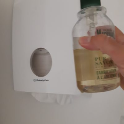 Règles sanitaires à l'Atelier Rêve à Soie